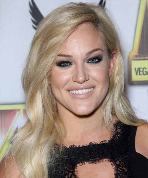 Lacey Schwimmer Long Straight Casual Hairstyle
