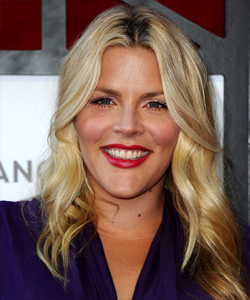 Busy Philipps Long Wavy Hairstyle