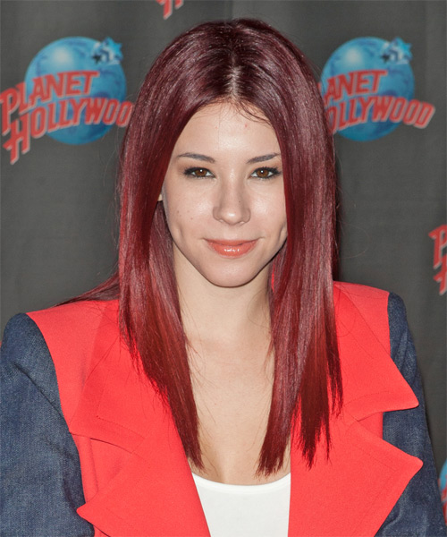 Jillian Rose Reed Long Straight Formal Hairstyle