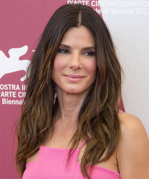 Sandra Bullock Long Straight Casual