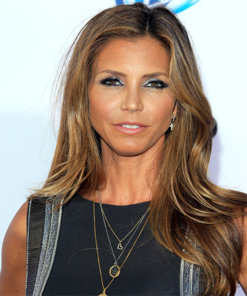 Charisma Carpenter Long Straight Hairstyle
