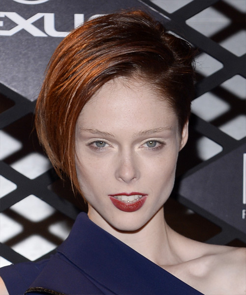 Coco Rocha Short Straight Formal Hairstyle