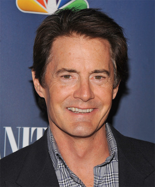Kyle MacLachlan Short Straight Casual Hairstyle
