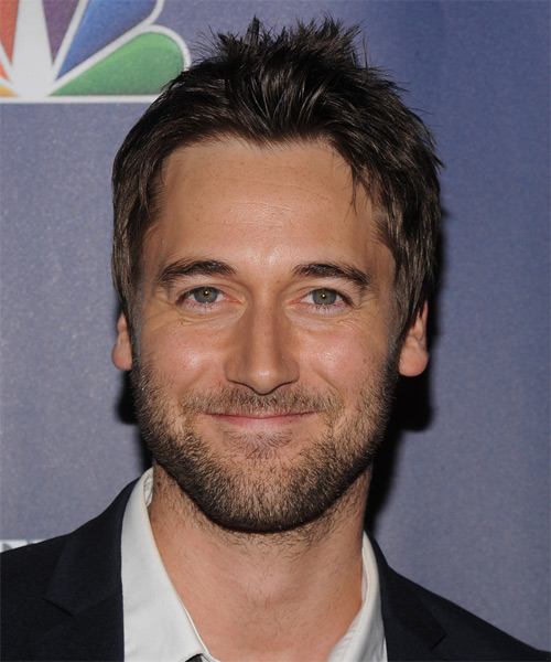 Ryan Eggold Short Straight Hairstyle