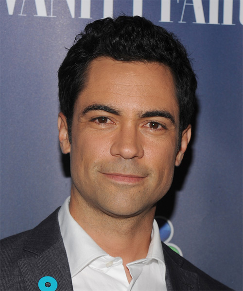 Danny Pino Short Wavy Casual Hairstyle