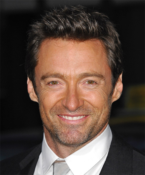 Hugh Jackman Short Straight Casual