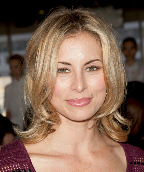 Niki Taylor Medium Straight Casual Hairstyle