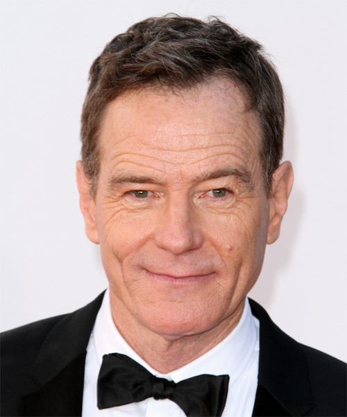 Bryan Cranston Short Straight Hairstyle