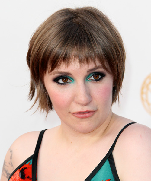 Lena Dunham Short Straight Casual