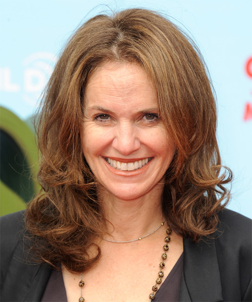 Amy Brenneman Medium Straight Hairstyle