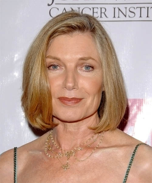 Susan Sullivan Medium Straight Casual Hairstyle