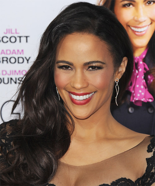 Paula Patton Long Wavy Hairstyle