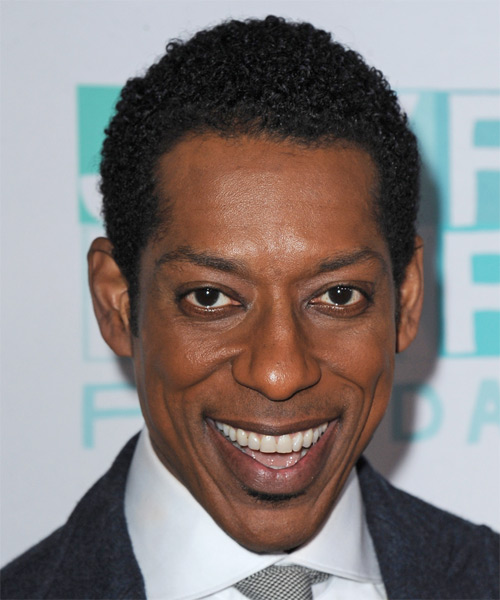 Orlando Jones Short Curly Casual