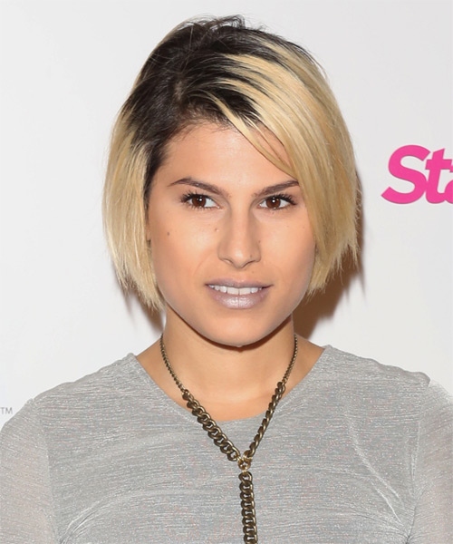 Michelle Ojeda Short Straight hairstyle