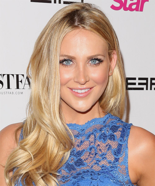 Stephanie Pratt Long Straight Formal Hairstyle