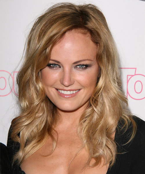 Malin Akerman Long Wavy Casual