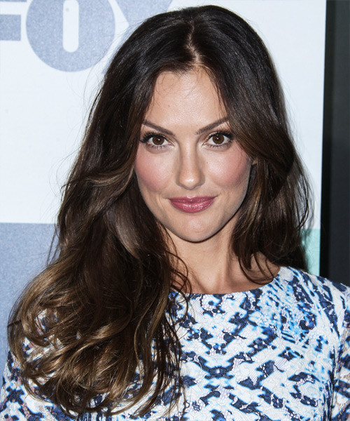 Minka Kelly Long Straight Casual Hairstyle