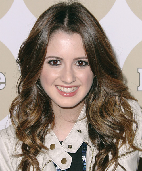 Laura Marano Long Wavy Formal Hairstyle