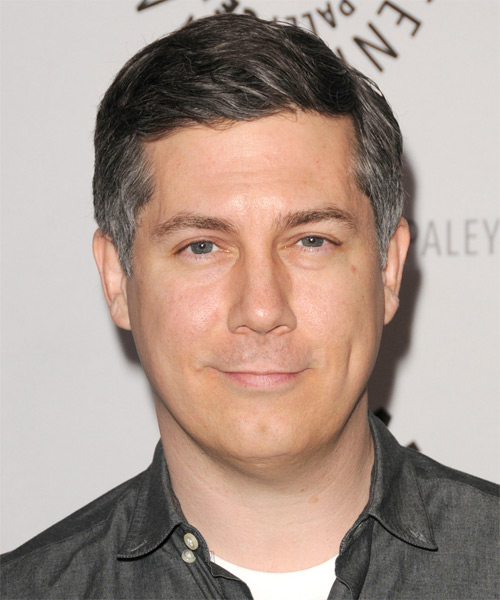 Chris Parnell Short Straight Hairstyle