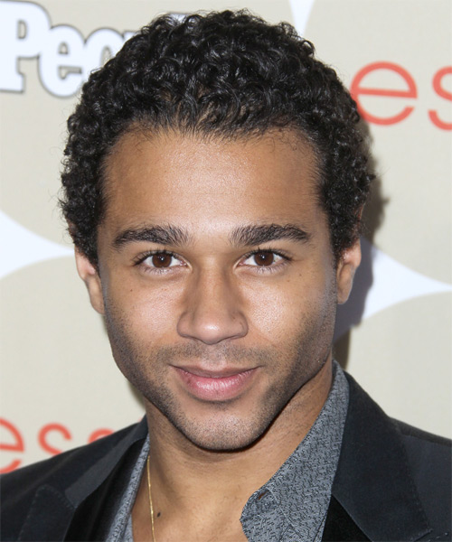 Corbin Bleu Short Curly Hairstyle