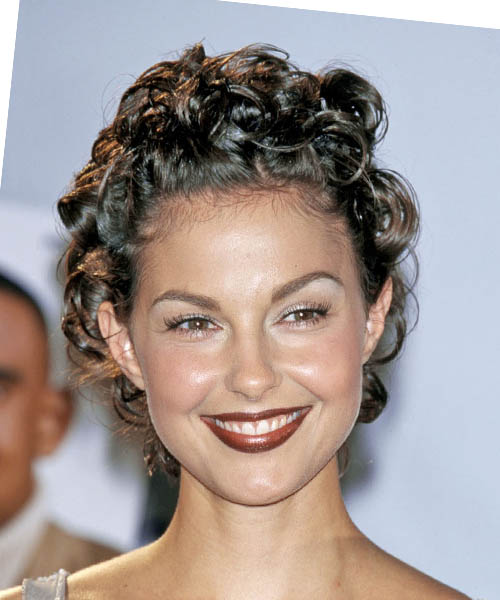 Ashley Judd Short Curly Formal Hairstyle