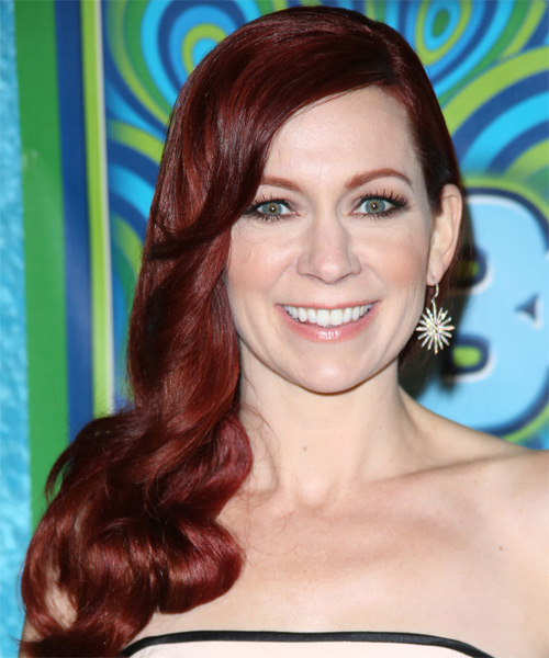Carrie Preston Long Wavy Hairstyle