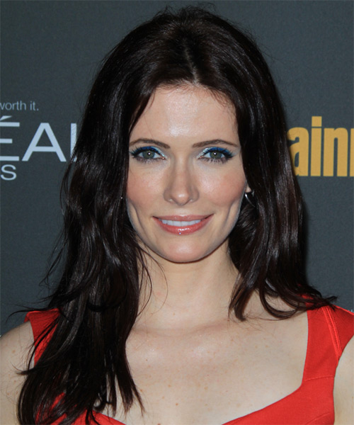 Bitsie Tulloch Long Straight Casual Hairstyle
