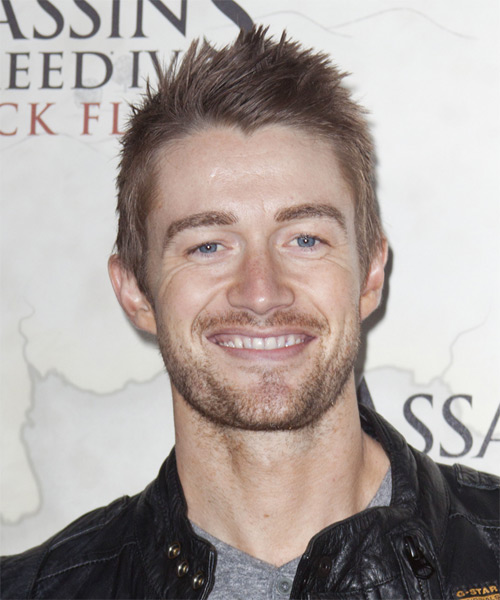 Robert Buckley Short Straight Casual Hairstyle