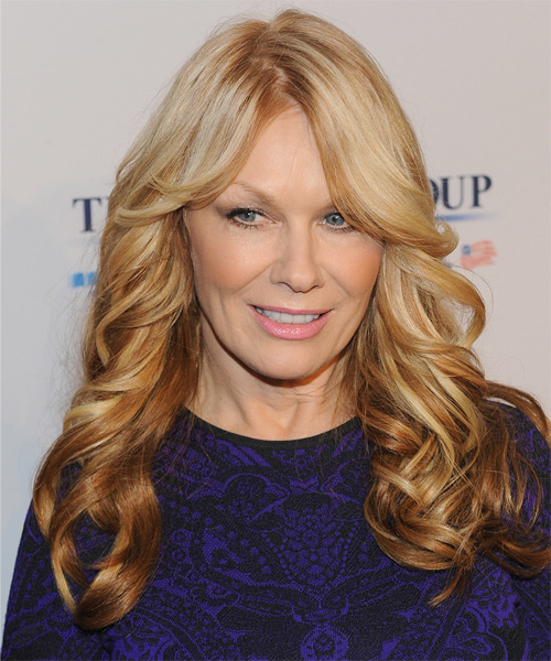Nancy Wilson Long Wavy Hairstyle