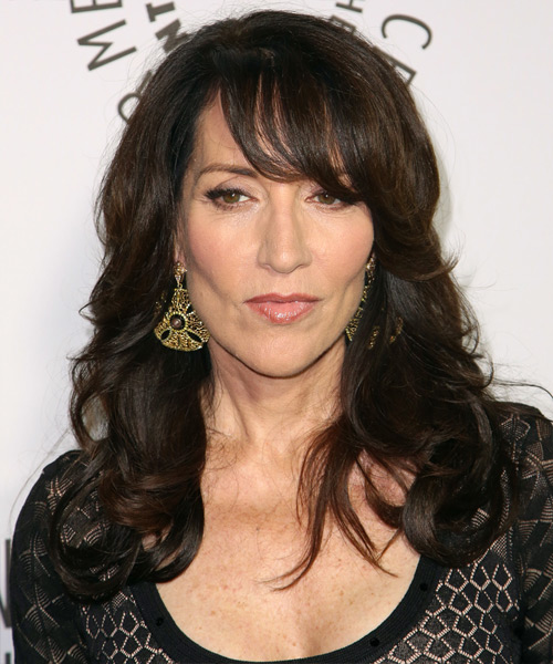 Katey Sagal Long Wavy Formal Hairstyle