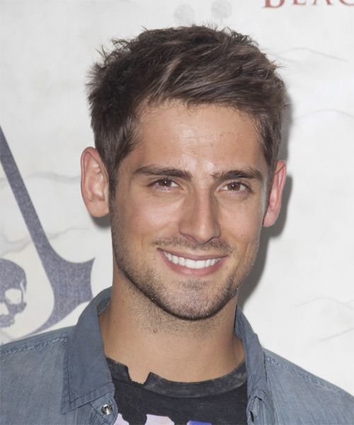 Jean Luc Bilodeau Short Straight Casual Hairstyle