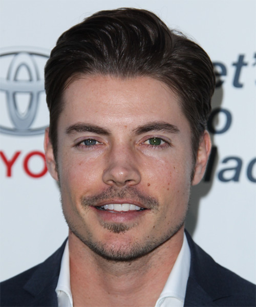 Josh Henderson Short Straight Hairstyle - Dark Brunette