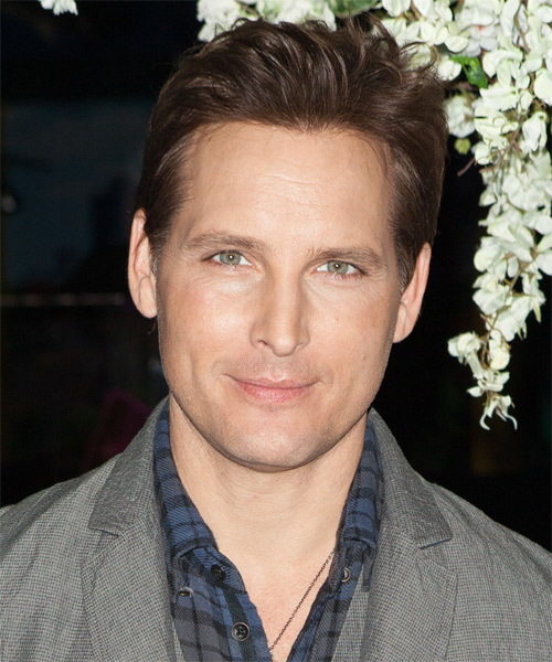 Peter Facinelli Short Straight Hairstyle - Medium Brunette