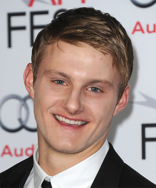 Alexander Ludwig Short Straight Hairstyle - Dark Blonde