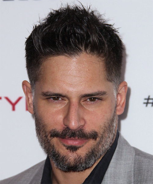 Joe Manganiello Short Straight Hairstyle