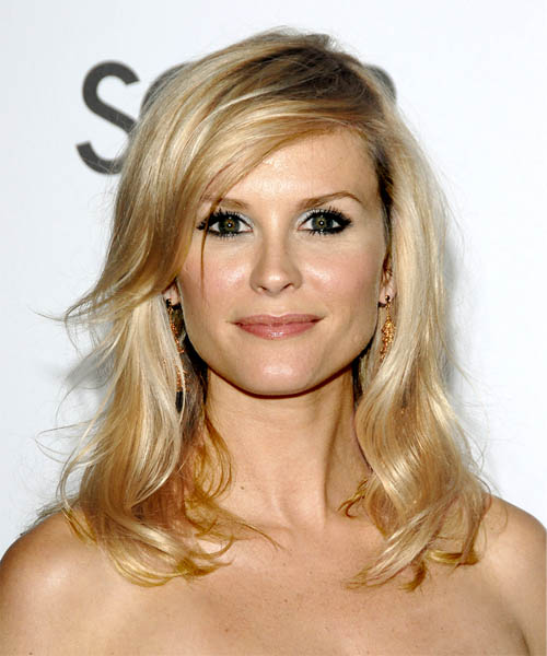 Bonnie Somerville Long Wavy Hairstyle - Medium Blonde (Golden)