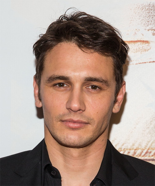 James Franco Short Straight Casual Hairstyle - Medium Brunette Hair Color