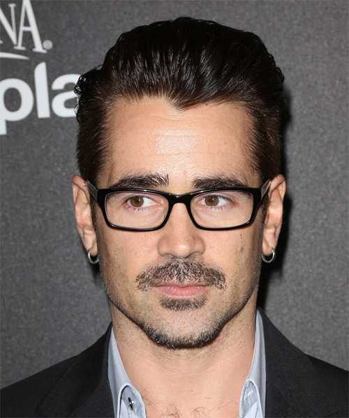 Colin Farrell Short Straight Formal  - Dark Brunette