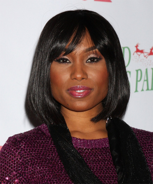 Angell Conwell Medium Straight Hairstyle - Black