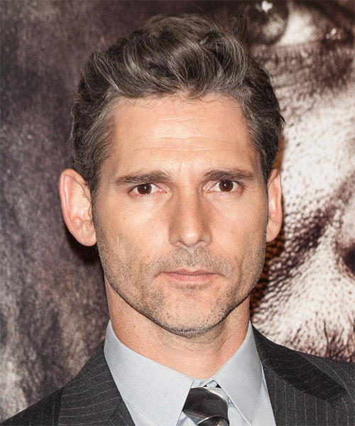 Eric Bana Short Straight Hairstyle - Light Brunette (Grey)