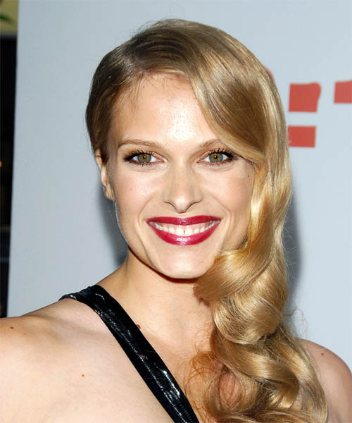 Vinessa Shaw Long Wavy Formal Hairstyle
