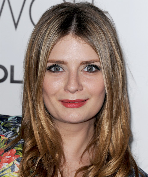 Mischa Barton Long Straight Hairstyle - Light Brunette (Ash)