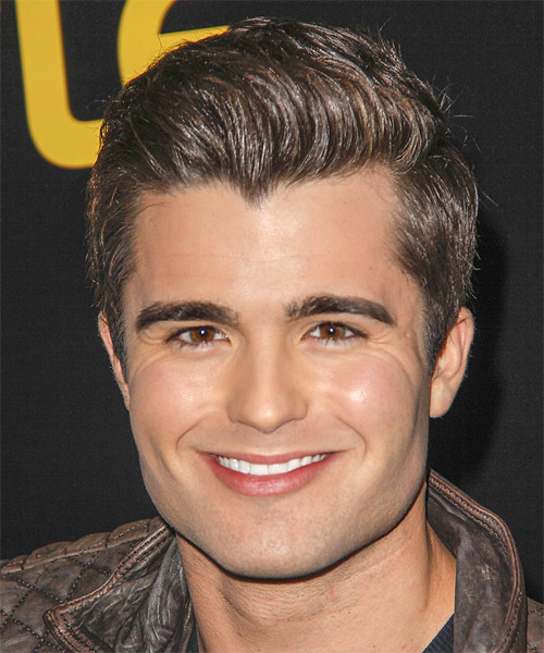 Spencer Boldman Short Straight Formal Hairstyle