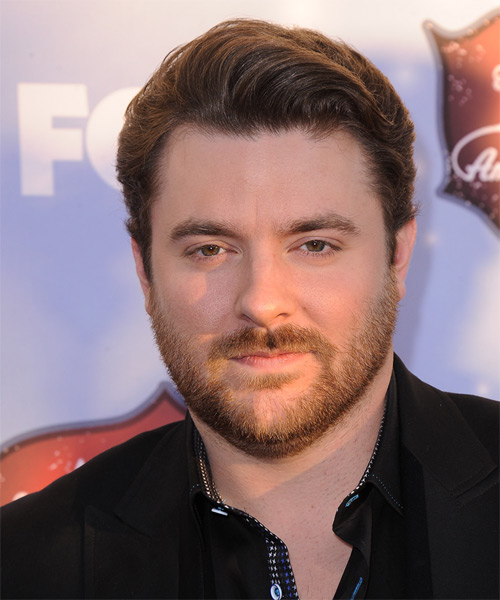 Chris Young Short Straight Hairstyle - Medium Brunette