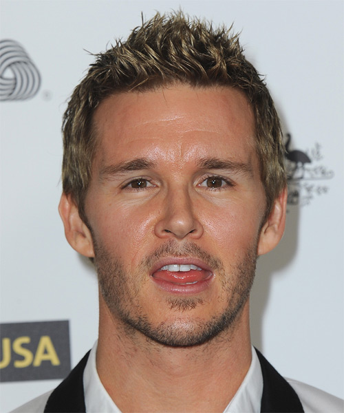 Ryan Kwanten Short Straight Casual Hairstyle - Medium Brunette Hair Color
