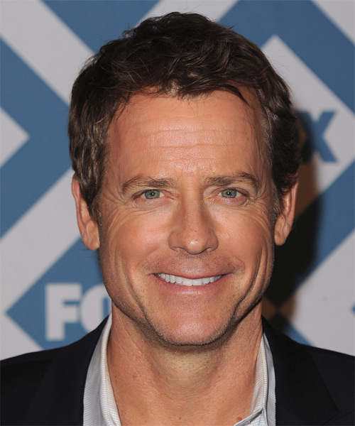 Greg Kinnear Short Wavy Casual Hairstyle - Medium Brunette Hair Color
