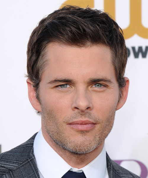 James Marsden Short Straight Formal  - Medium Brunette