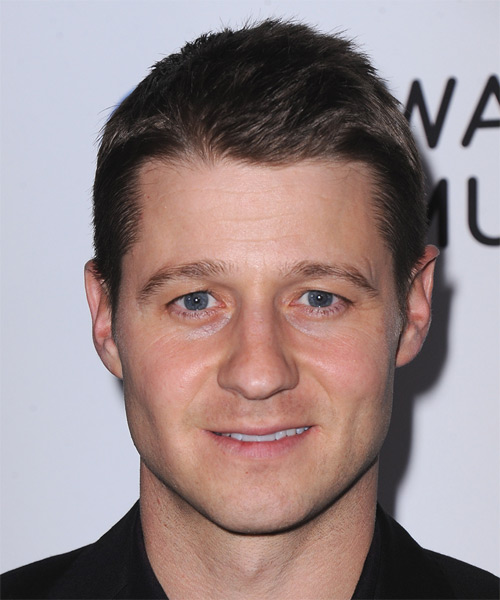 Benjamin McKenzie Short Straight Hairstyle - Dark Brunette