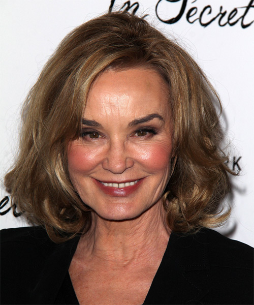 Jessica Lange Medium Straight Hairstyle - Dark Blonde (Golden)