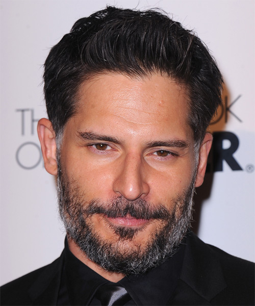 Joe Manganiello Short Straight Casual Hairstyle - Black Hair Color
